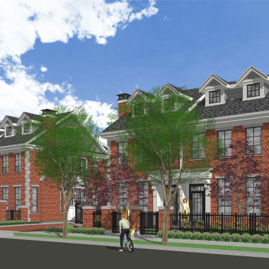 Amherst Lane townhomes by Balandra Development Inc.